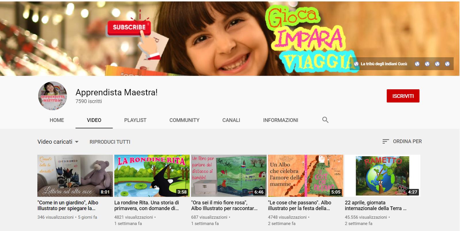 DaD Youtube scuola primaria