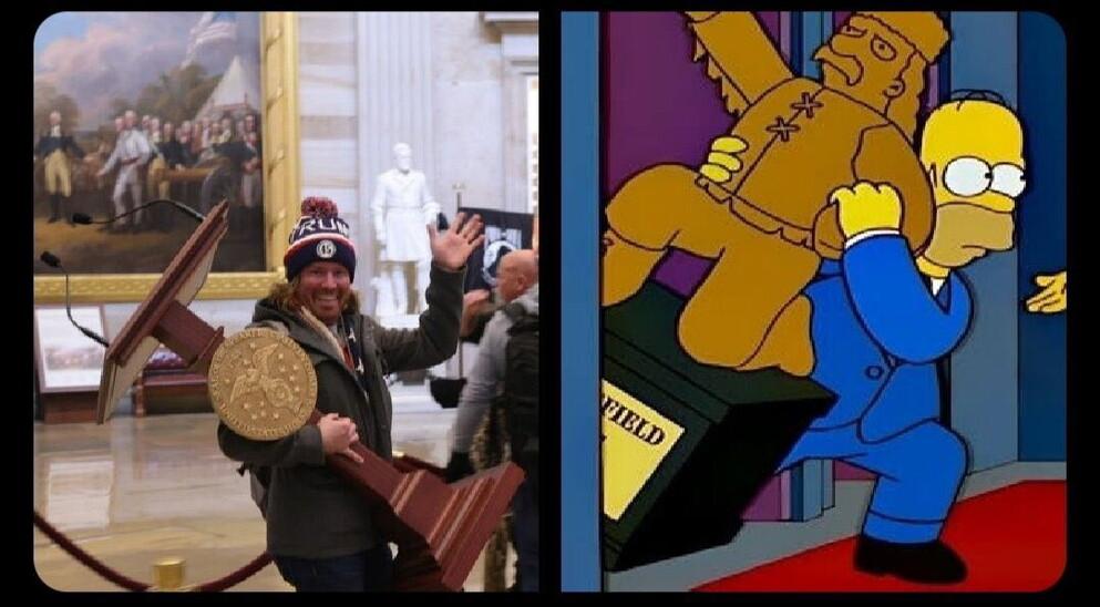 Simpson predicono assalto Capitol Hill