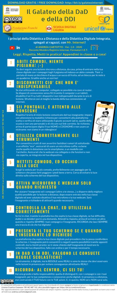 Infografica DAD e DDI Andrea Cartotto