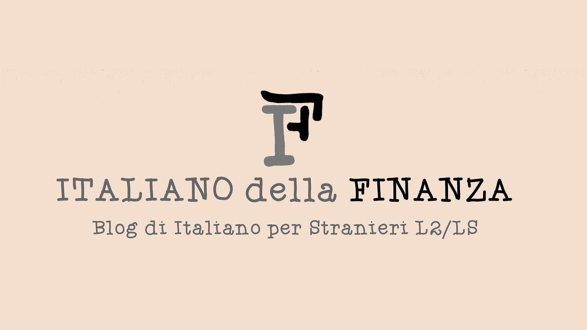 Italiano della Finanza blog