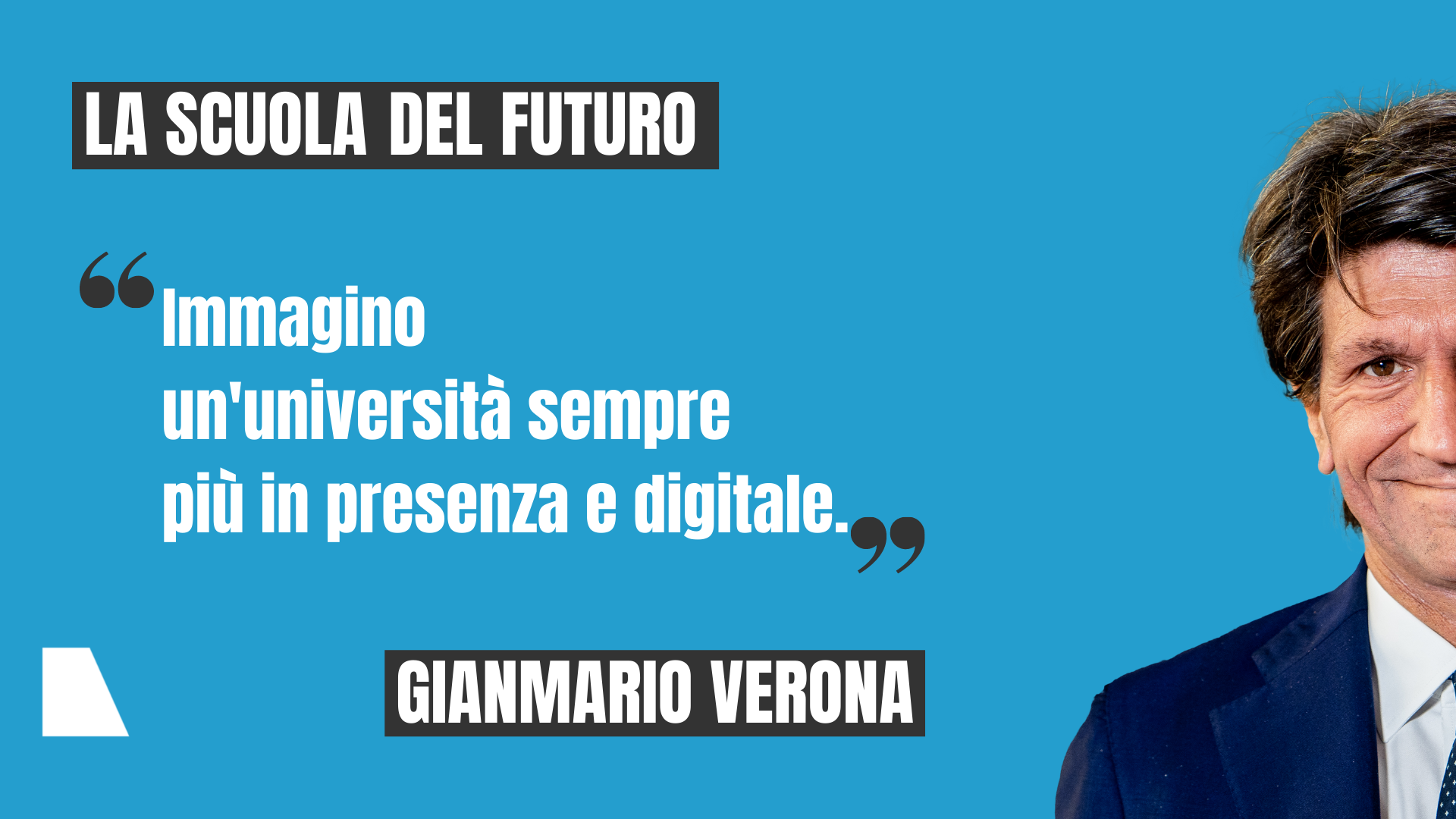 Gianmario Verona rettore Bocconi